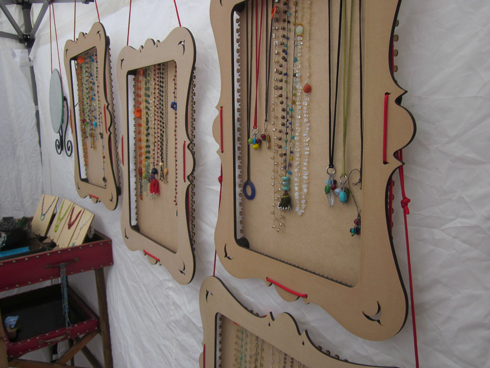 surprising Jewellery Booth Ideas Part - 16: ... truejune-jewelry-display-for-market-booths-2